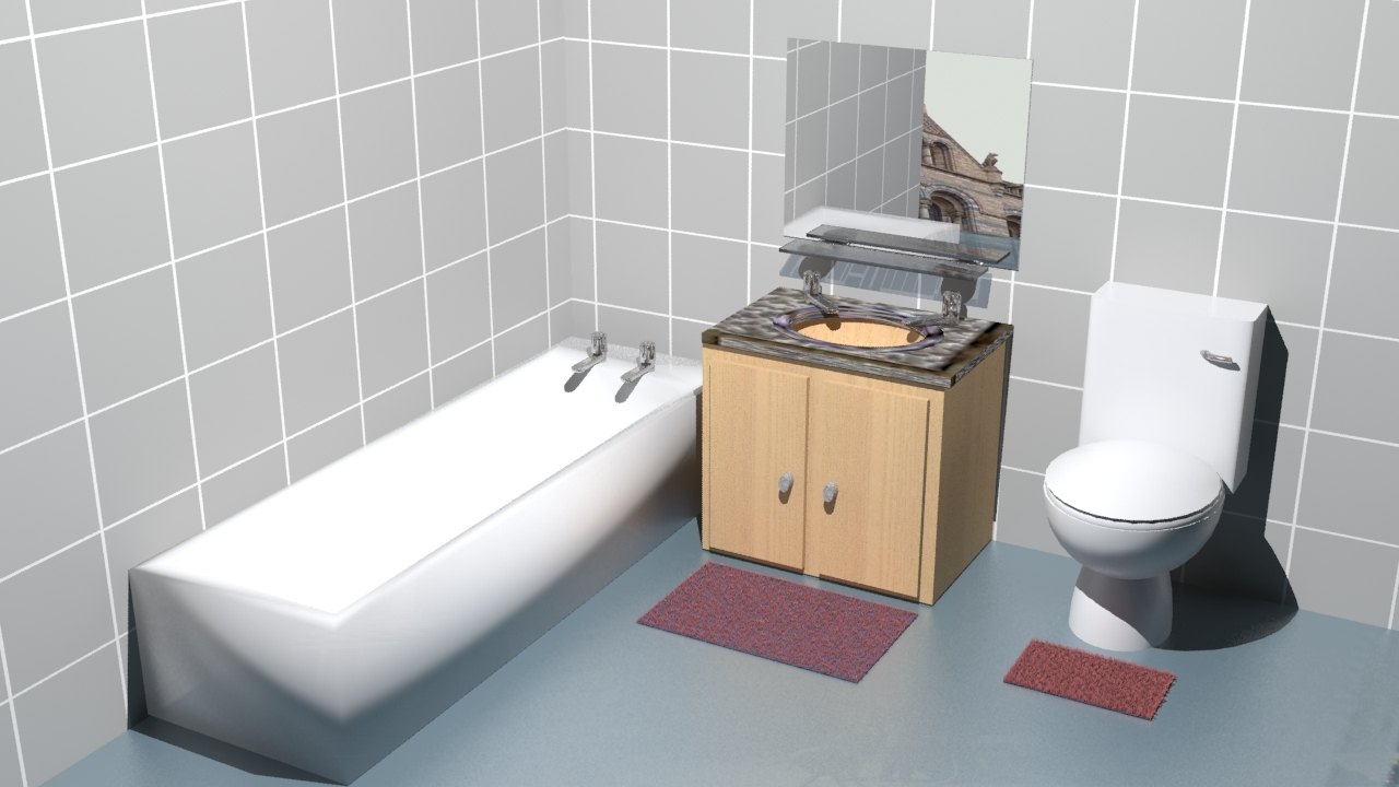Hdri Image Bathroom 1 Tahajul Islam