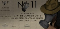 No11 Promotional launch party ticket
