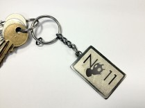 No11 Promotional keyring