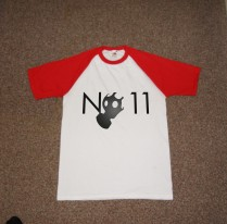 No11 Promotional t shirt