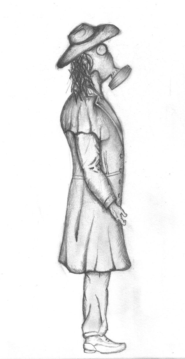 side pose