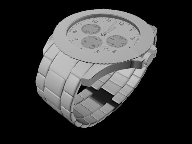 Tahajul Islam render of final watch model