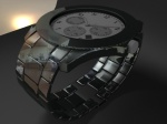 Tahajul Islam render test of watch with light and hdri