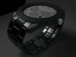 Tahajul Islam render test of watch with light and no hdri
